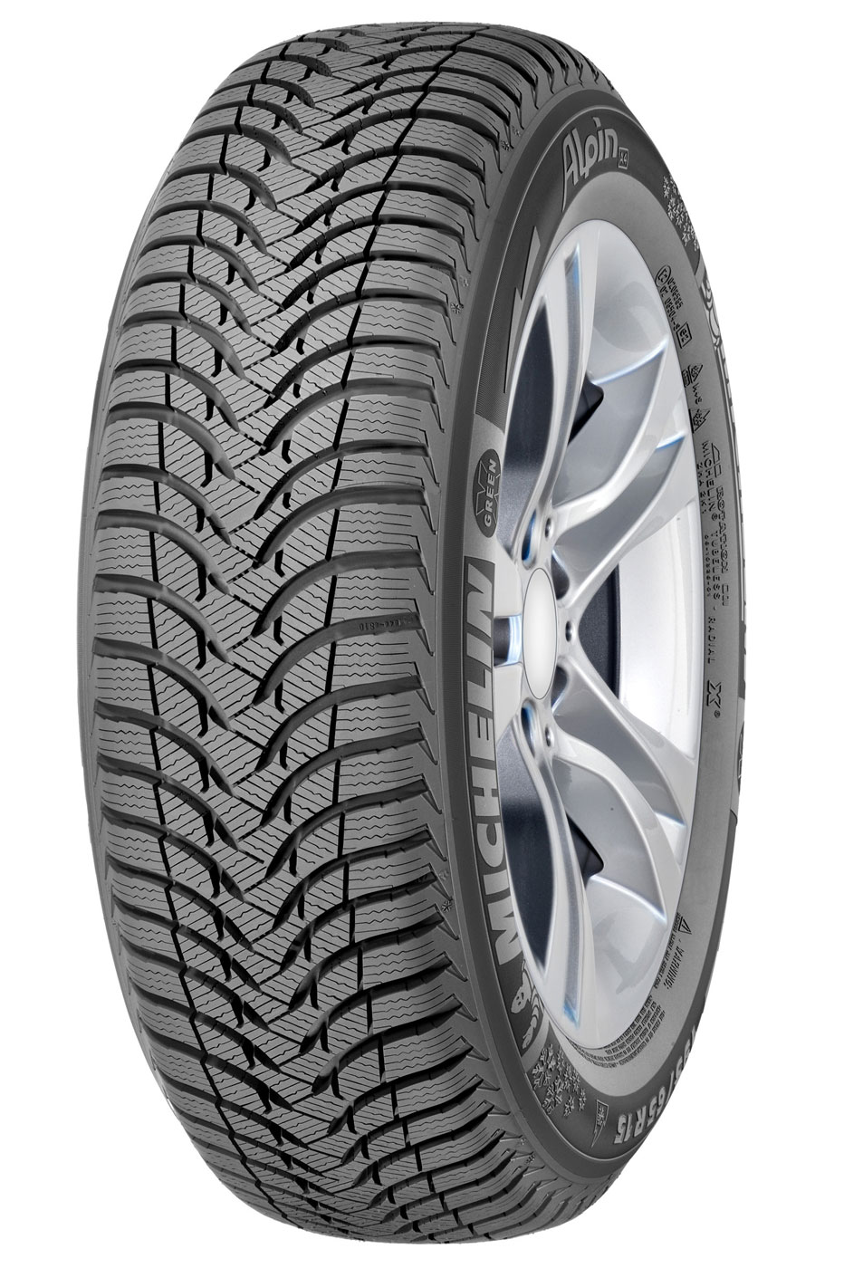 Michelin Alpin A4 195/60 R15 88T GRNX